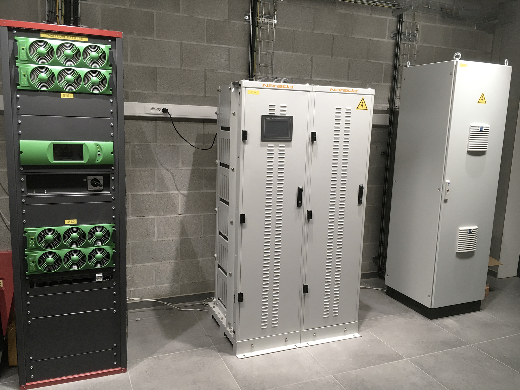 Storage solution at CE+T